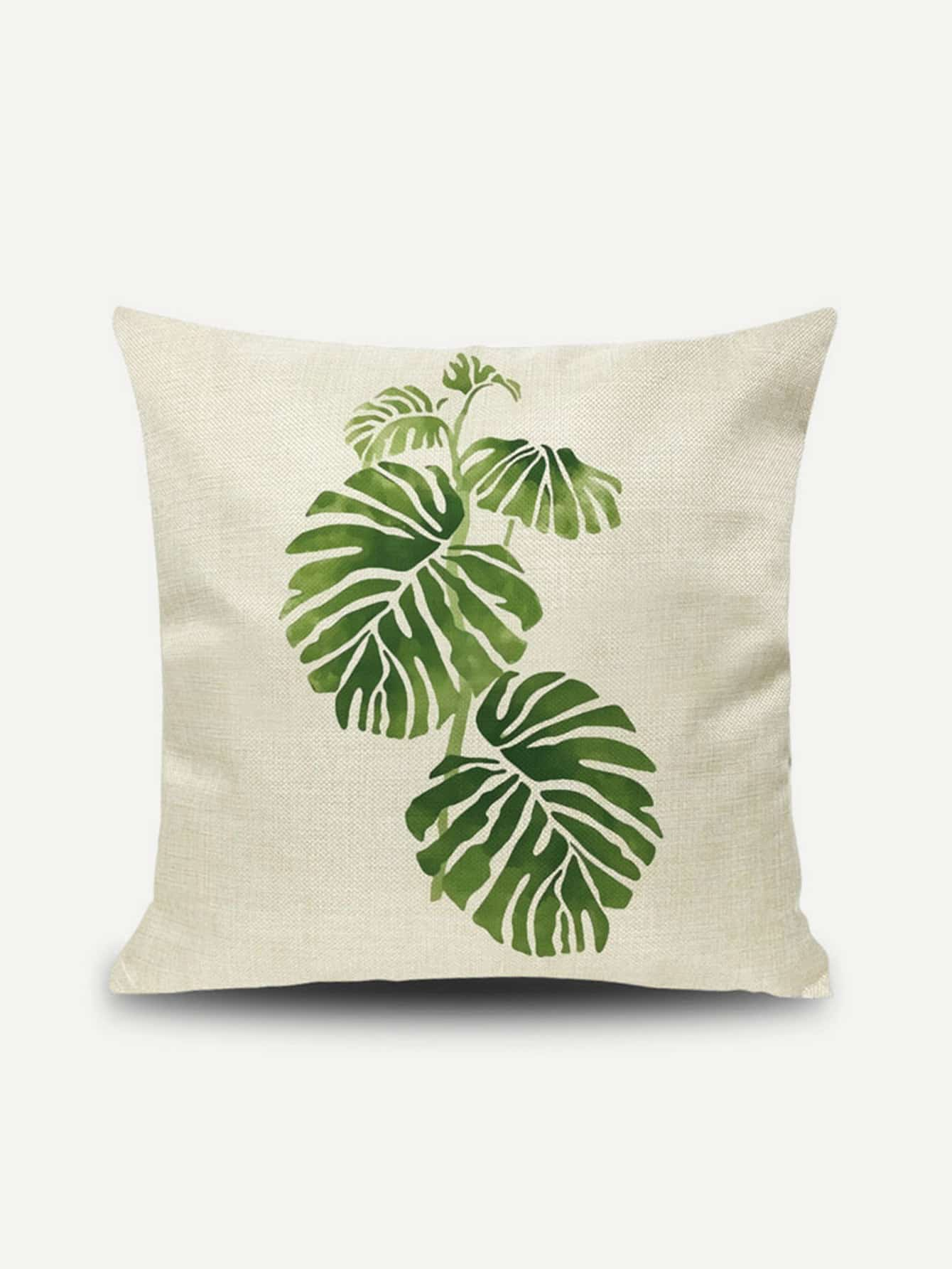 Palm Print Pillow Cover babyhit babyhit ходунки first step зеленые