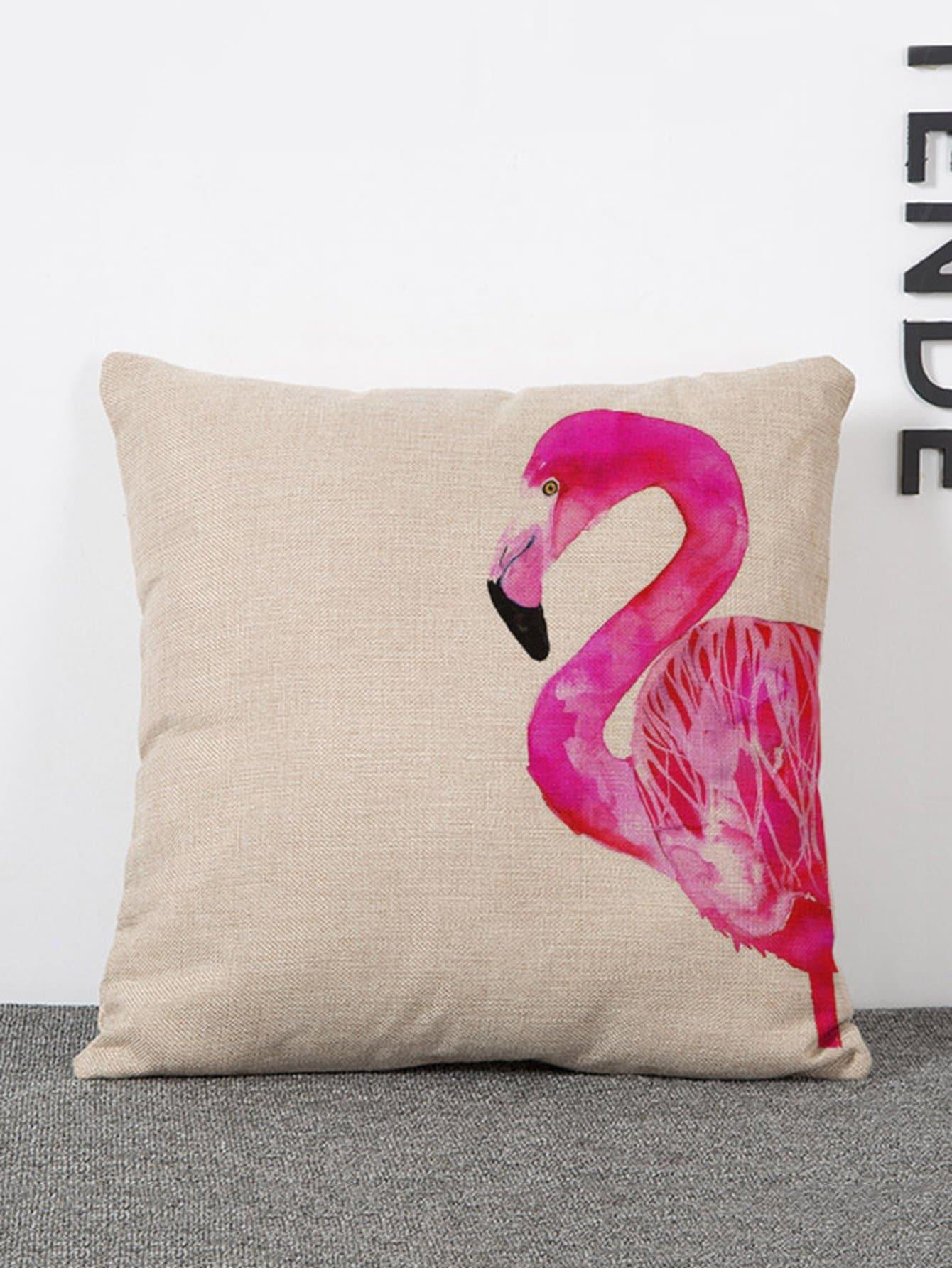 Купить Подушка для печати на фламинго, null, SheIn