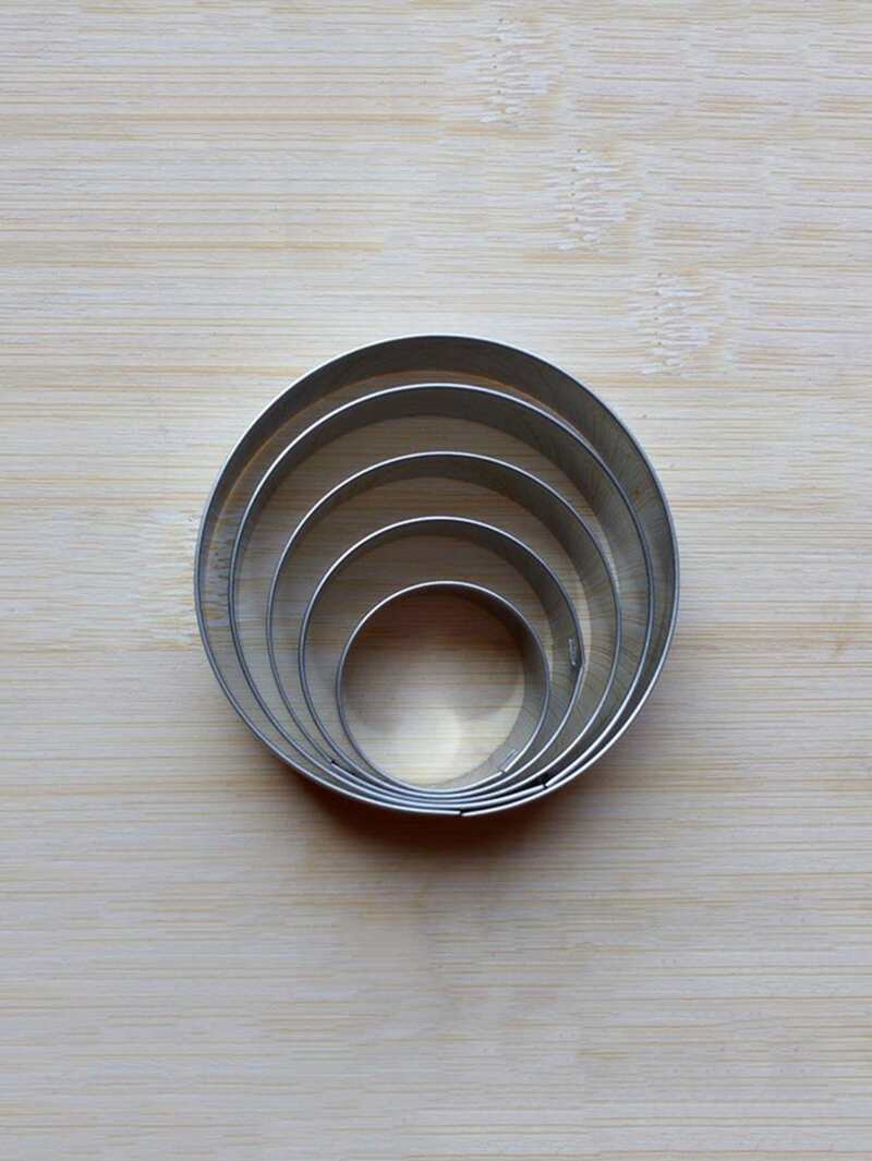 Stainless Steel Cookie Cutter 5pcs