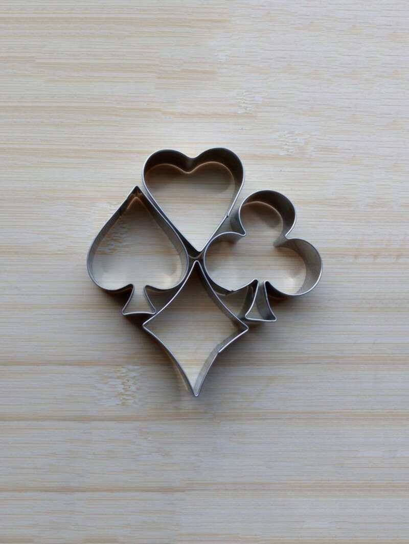 Stainless Steel Cookie Mold 4pcs