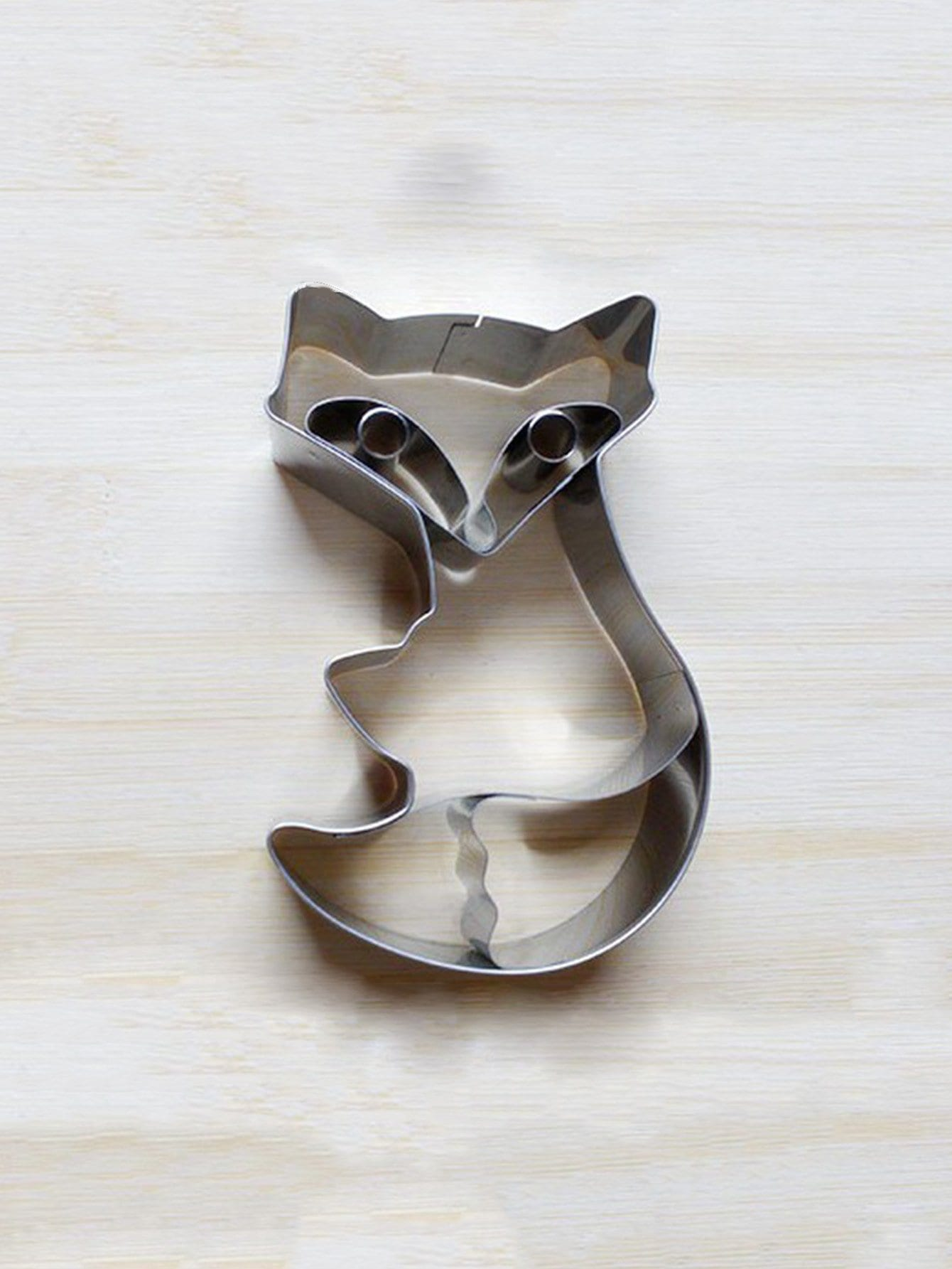Stainless Steel Fox Cookie Cutter 1pc stainless steel abs chrysanthemum heart shaped spring cookie cutter