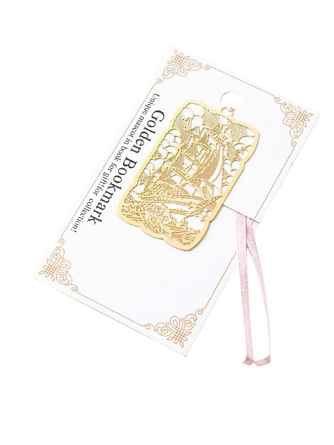 Metallic Laser Cut Bookmark full page bookmark magnifier