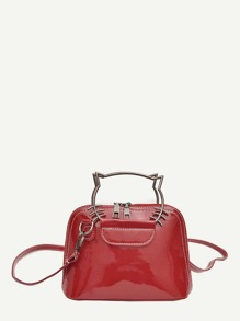 Stitch Trim Crossbody Bag