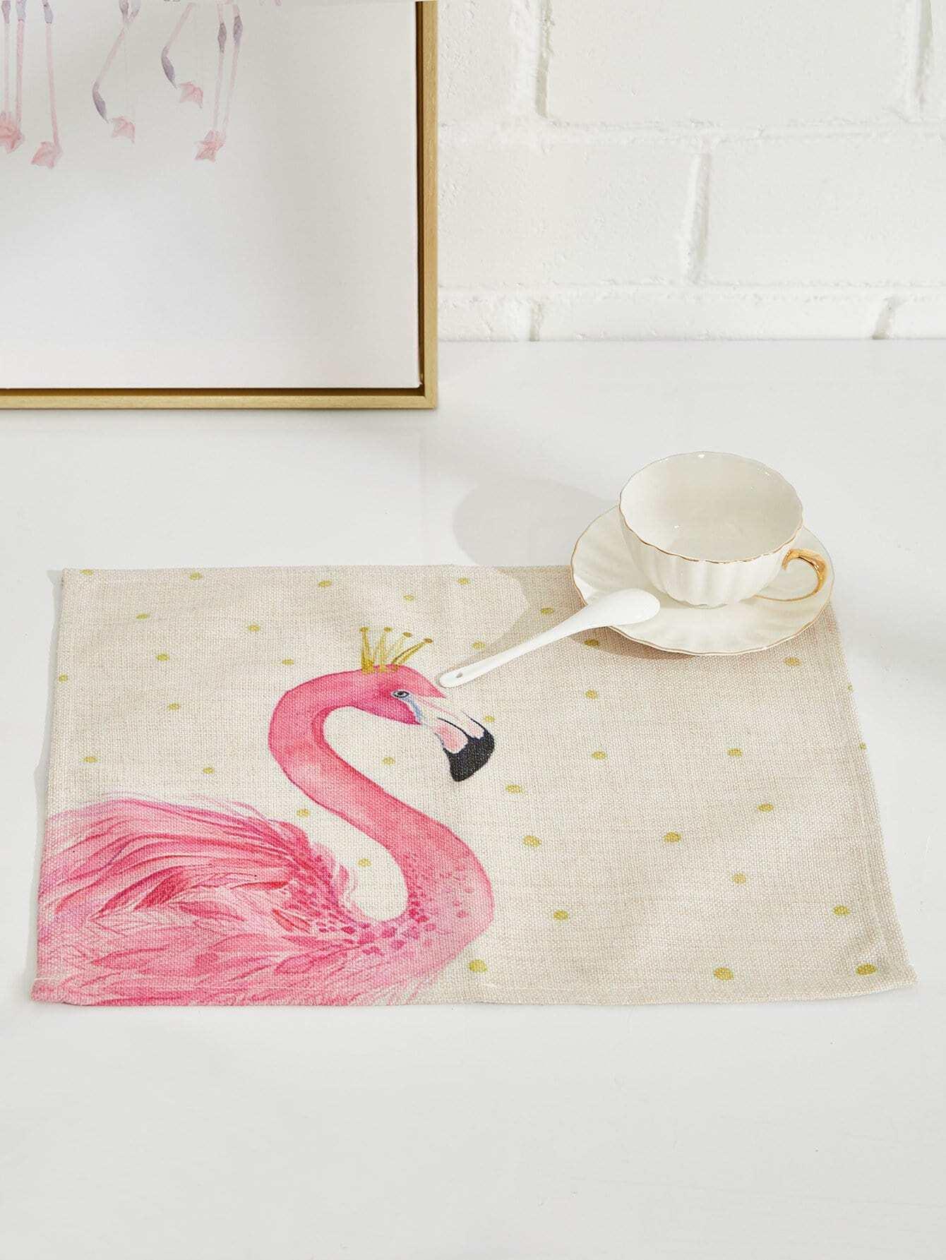 Flamingo Linen Placement flamingo linen placement