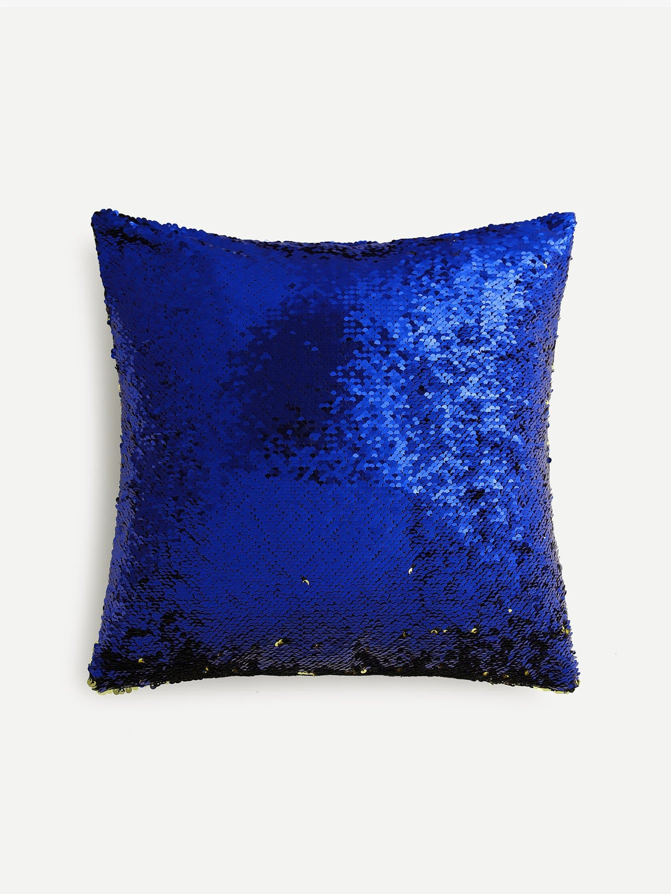 Two Tone Sequin Pillow Cover