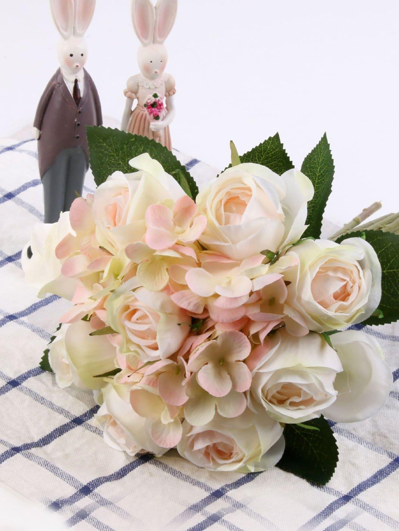 Фото Artificial Flower Bouquet With 11pcs Flower
