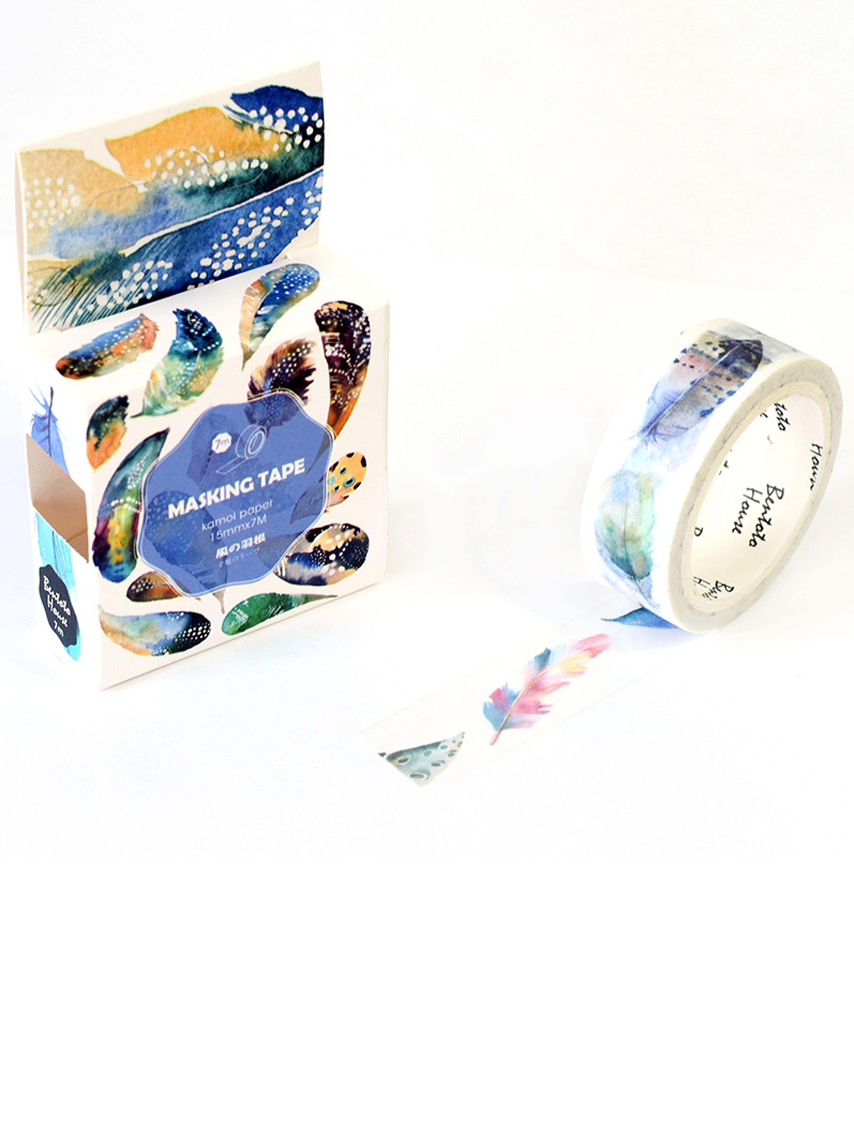 Feather Pattern Masking Tape chain pattern masking tape