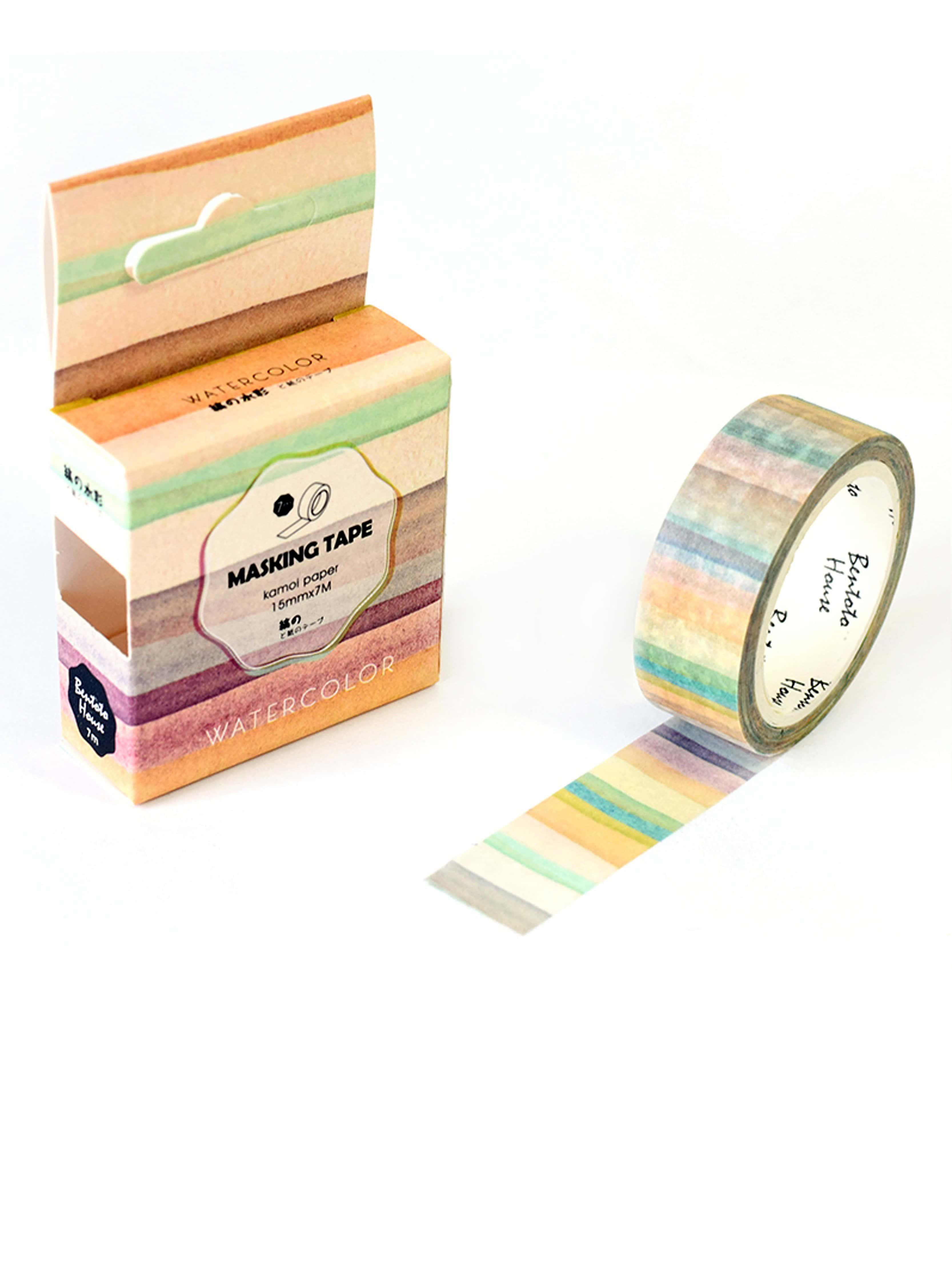 Block Striped Masking Tape