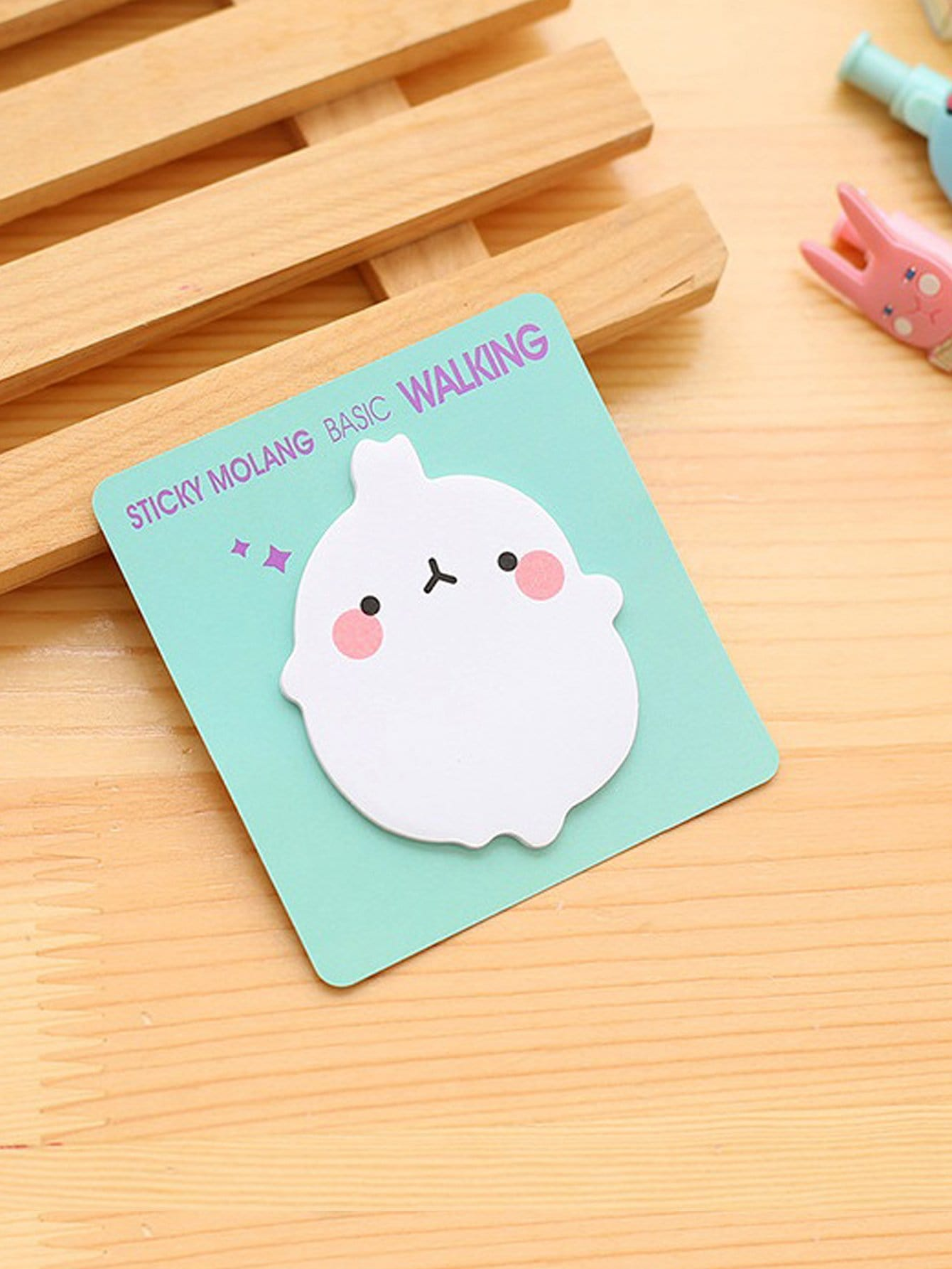 Cartoon Animal Sticky Memo 20sheets 1pc lot cute rabbit design memo pad office accessories memos sticky notes school stationery post it supplies tt 2766