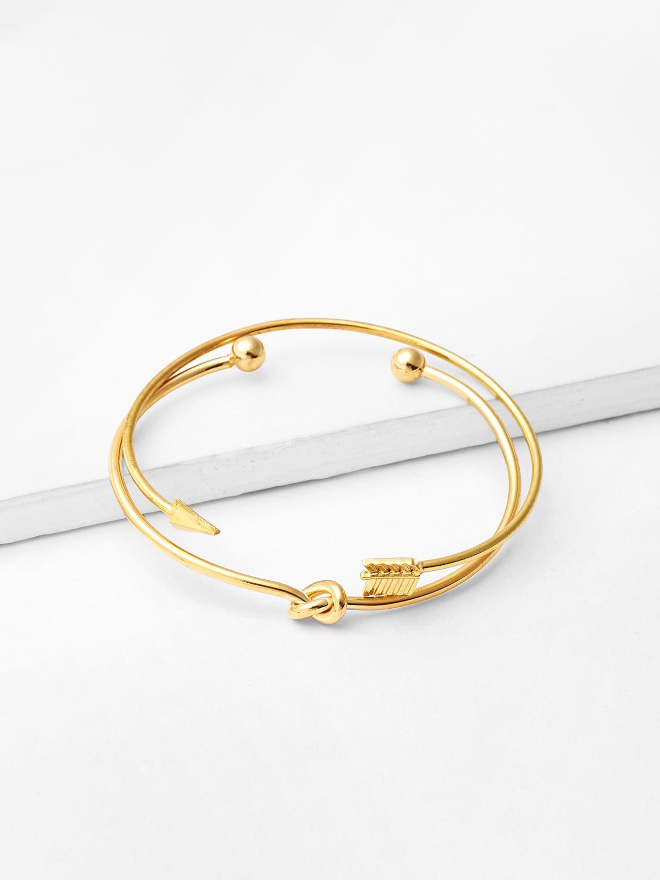 Купить Набор для браслетов Arrow & Knot Design, null, SheIn