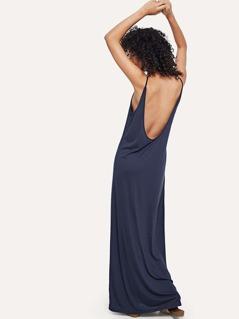 Scoop Neck Jersey Cami Dress
