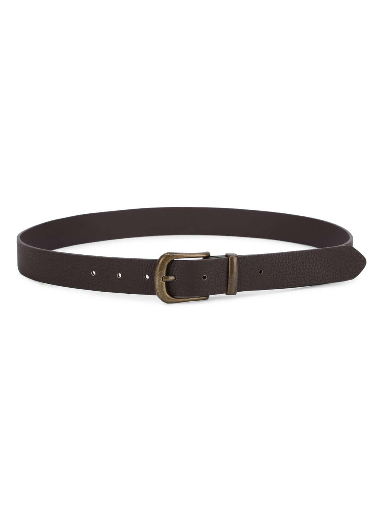 Metal Buckle PU Belt все цены