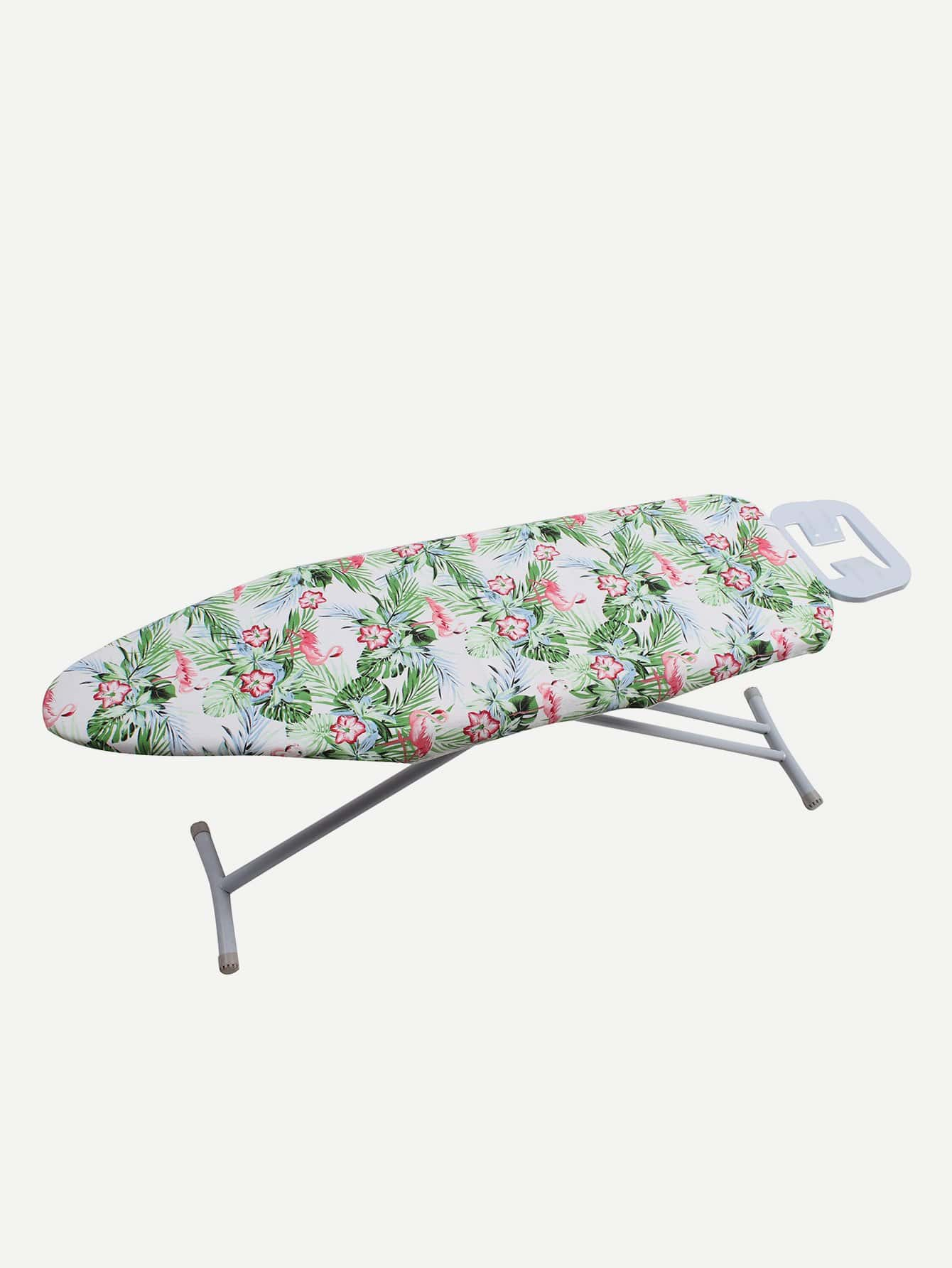 Flamingo Print Ironing Board Cover iron shoe cover ironing aid board protect ptfe fabrics cloth heat easy fast