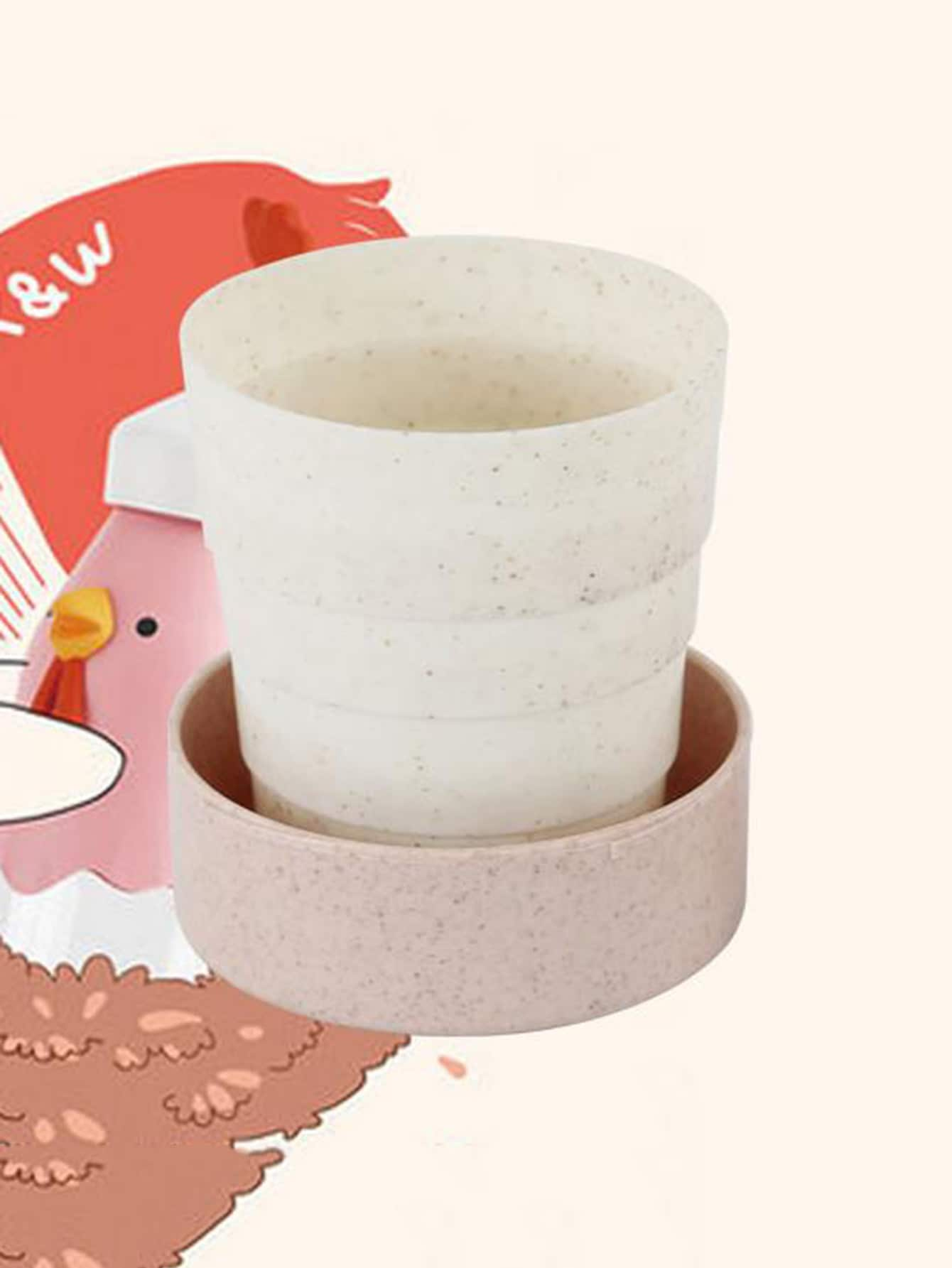 Collapsible Cup 130ml With Lid yumei 130ml