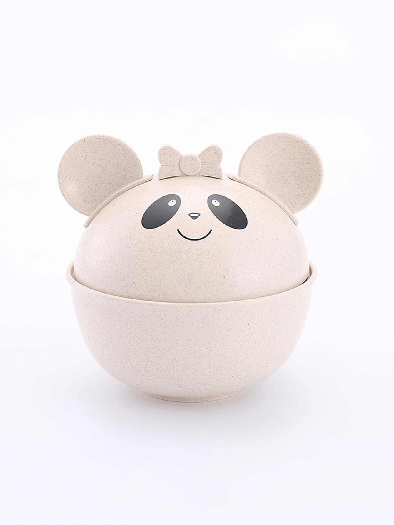 Cute Bear Bowl With Lid cute bear bowl with lid