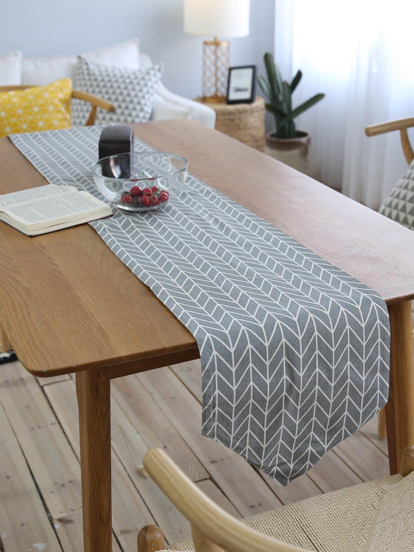 Купить Подстилка из ткани для сервировки стола полоски, null, SheIn