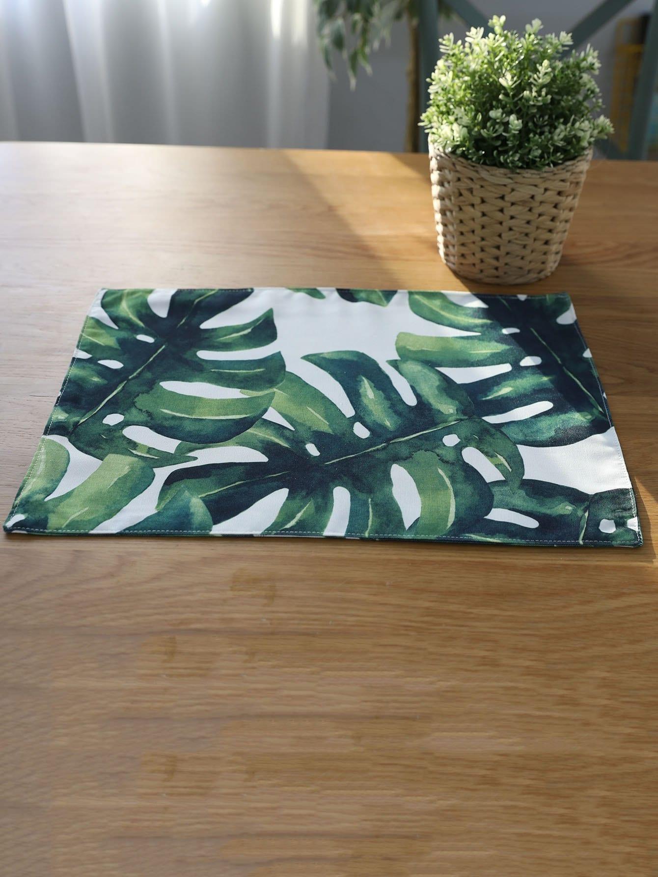 Купить Подстилка из ткани для сервировки стола пальма, null, SheIn