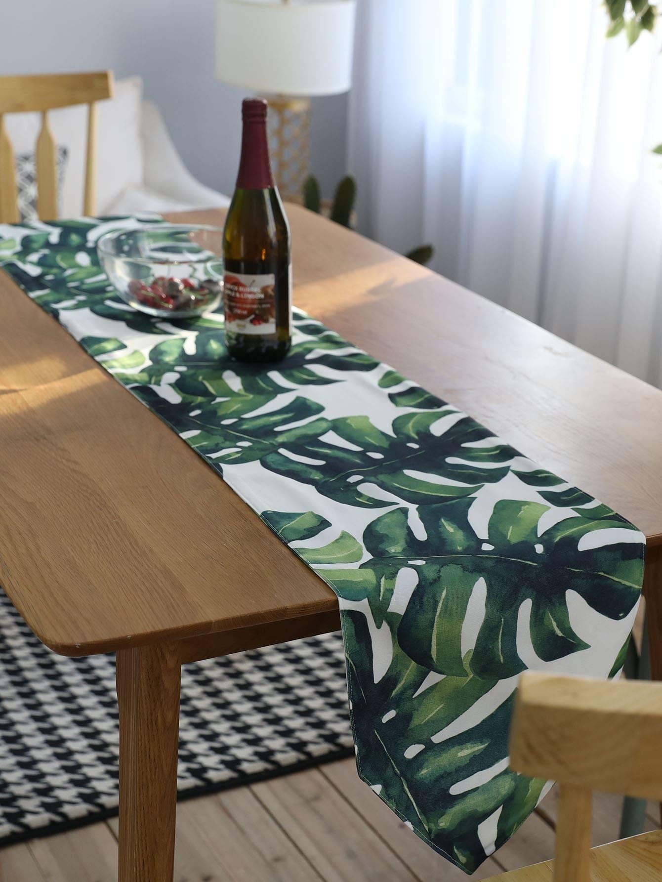 Купить Подстилка из ткани для сервировки стола пальмы, null, SheIn