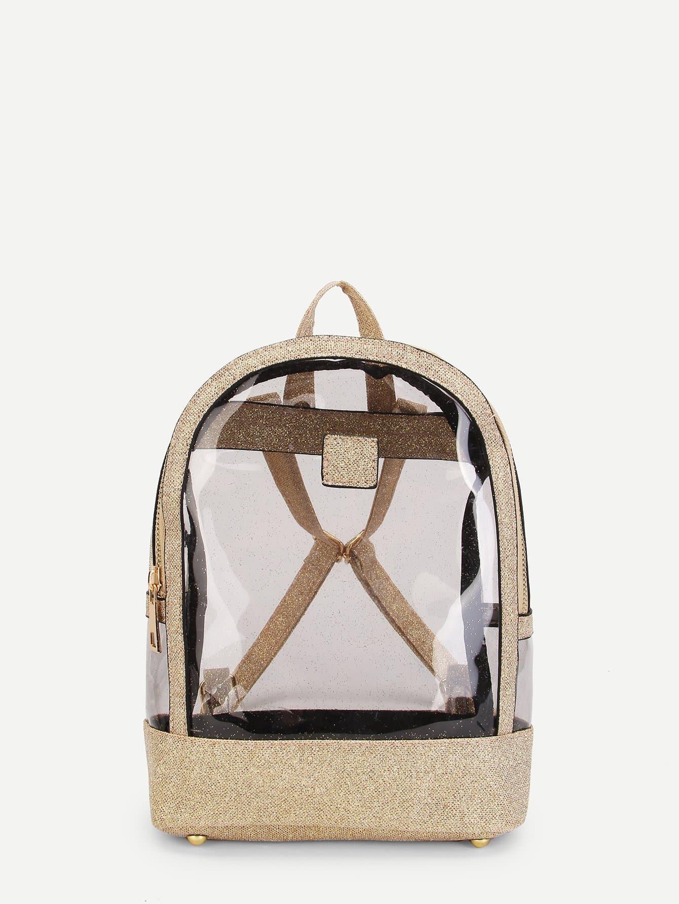 Clear Design Backpack clear design backpack