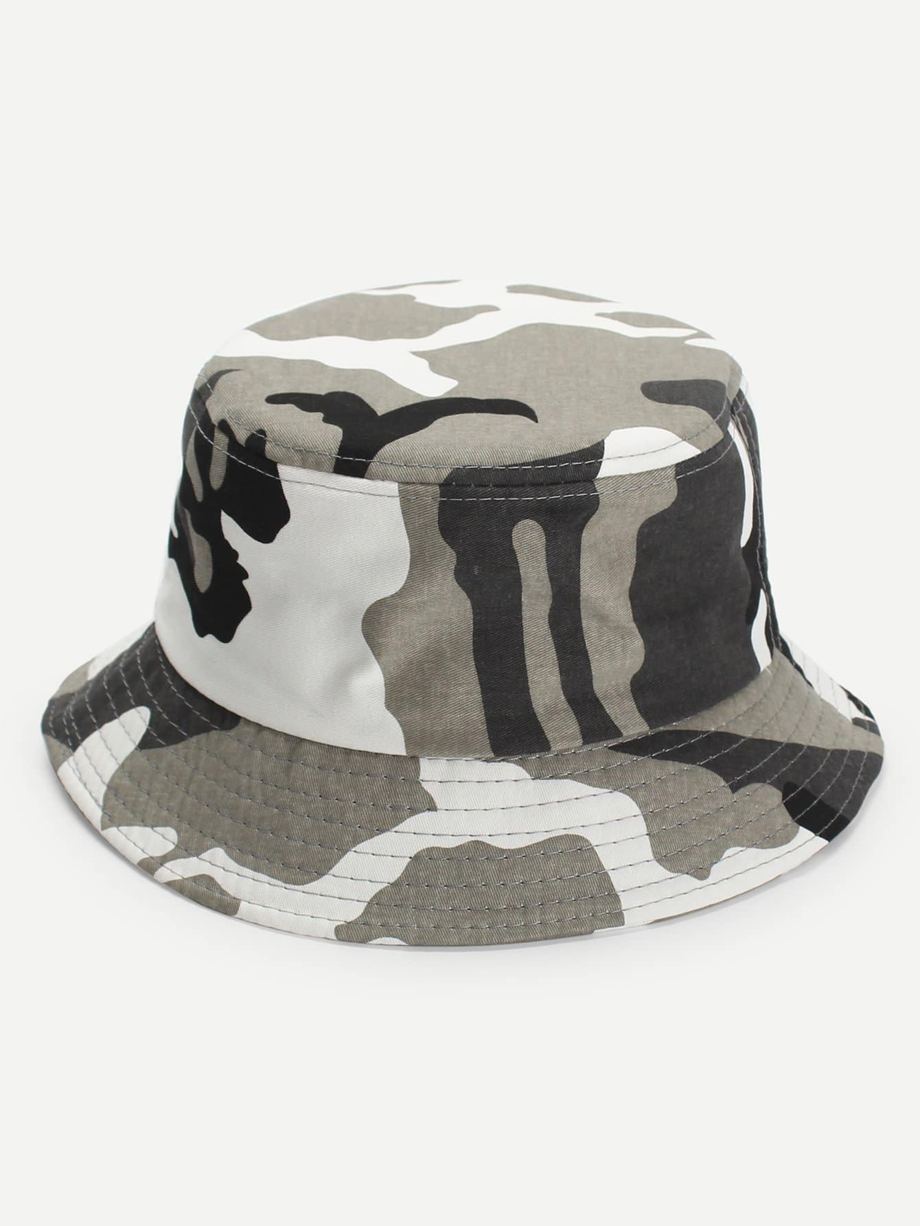 Camouflage Pattern Bucket Hat thickened folding canvas water bucket camouflage 9l