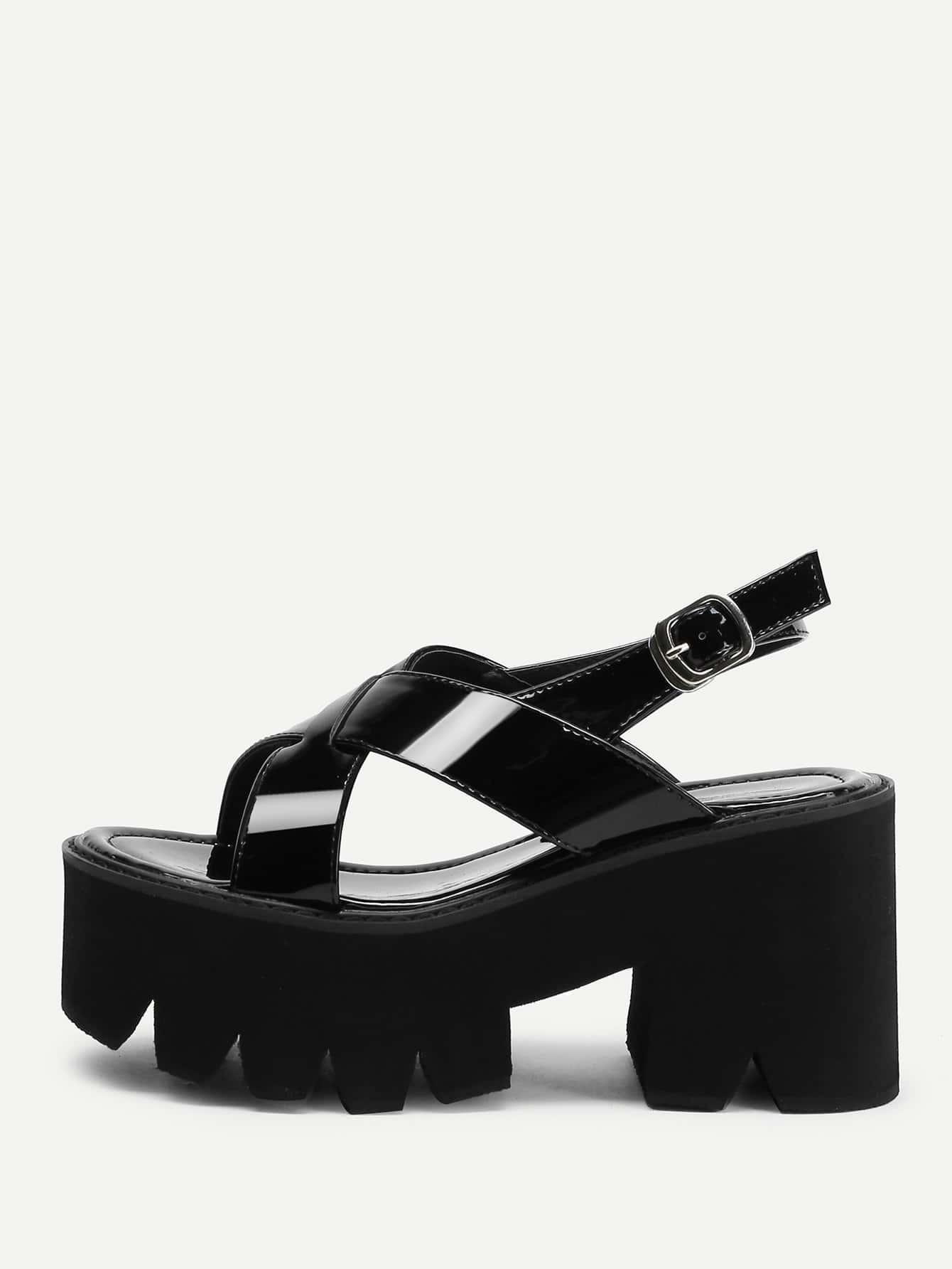 Criss Cross Platform Wedge Sandals cross cross suede wedge sandals
