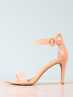 Patent Single Band Stiletto Heel