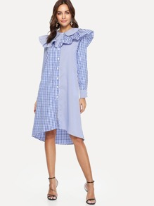 Ruffle Doll Collar Dress