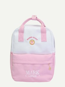 Two Tone Tote Backpack