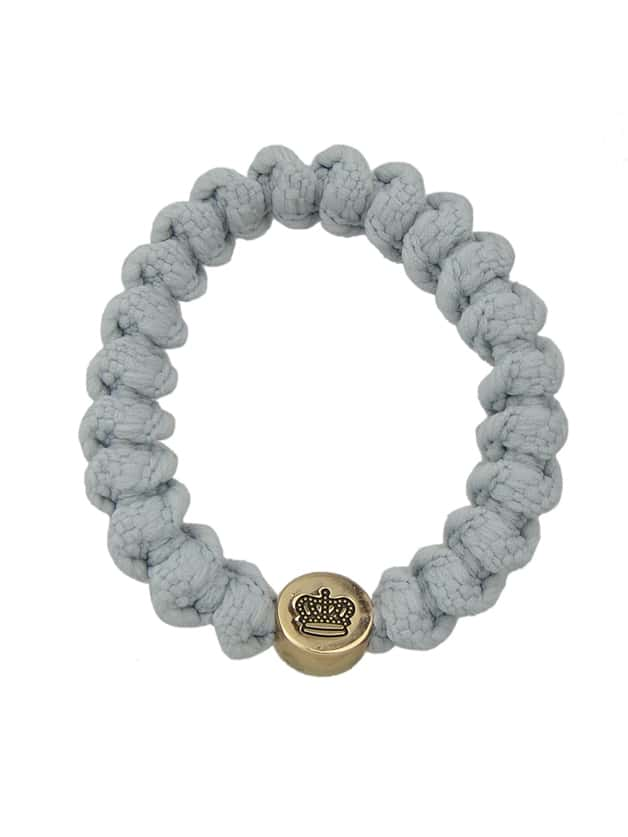 Gray Multicolors Elastic Rope Rubber Bands Accessories For Women