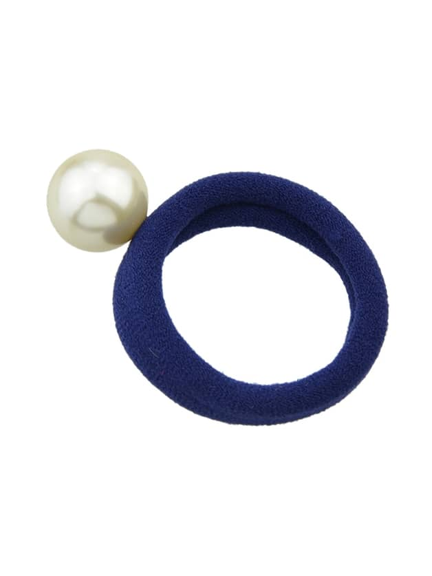 Navyblue 5 Colors Simulated Pearl Elastic Rope Bands