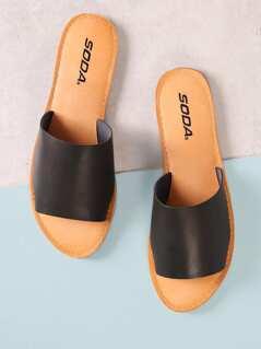 Single Band Slide Sandal