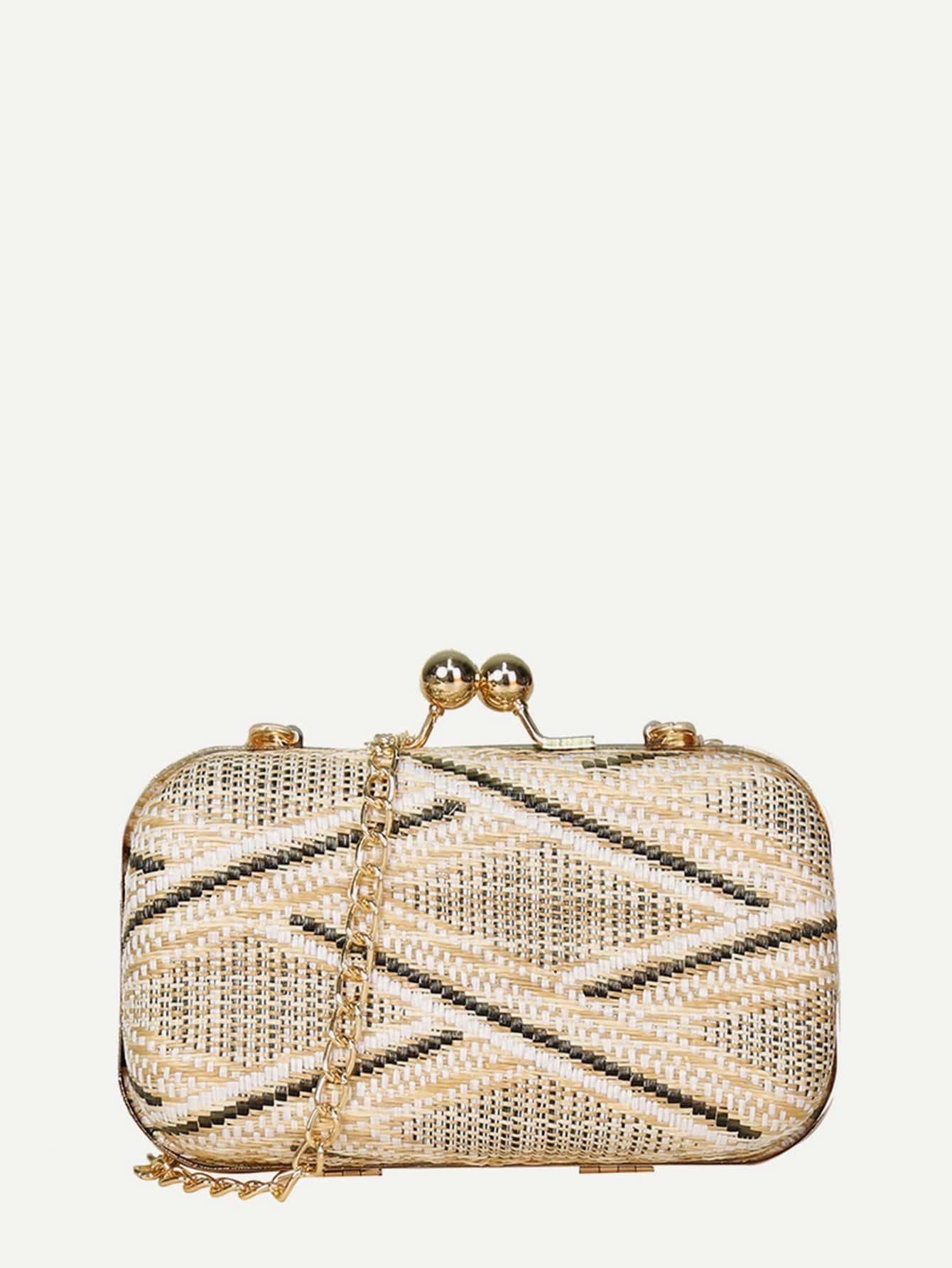 Kiss Lock Chain Clutch 10 5cm arch metal purse frame handle for clutch bag handbag accessories making kiss clasp lock antique bronze tone bags hardware