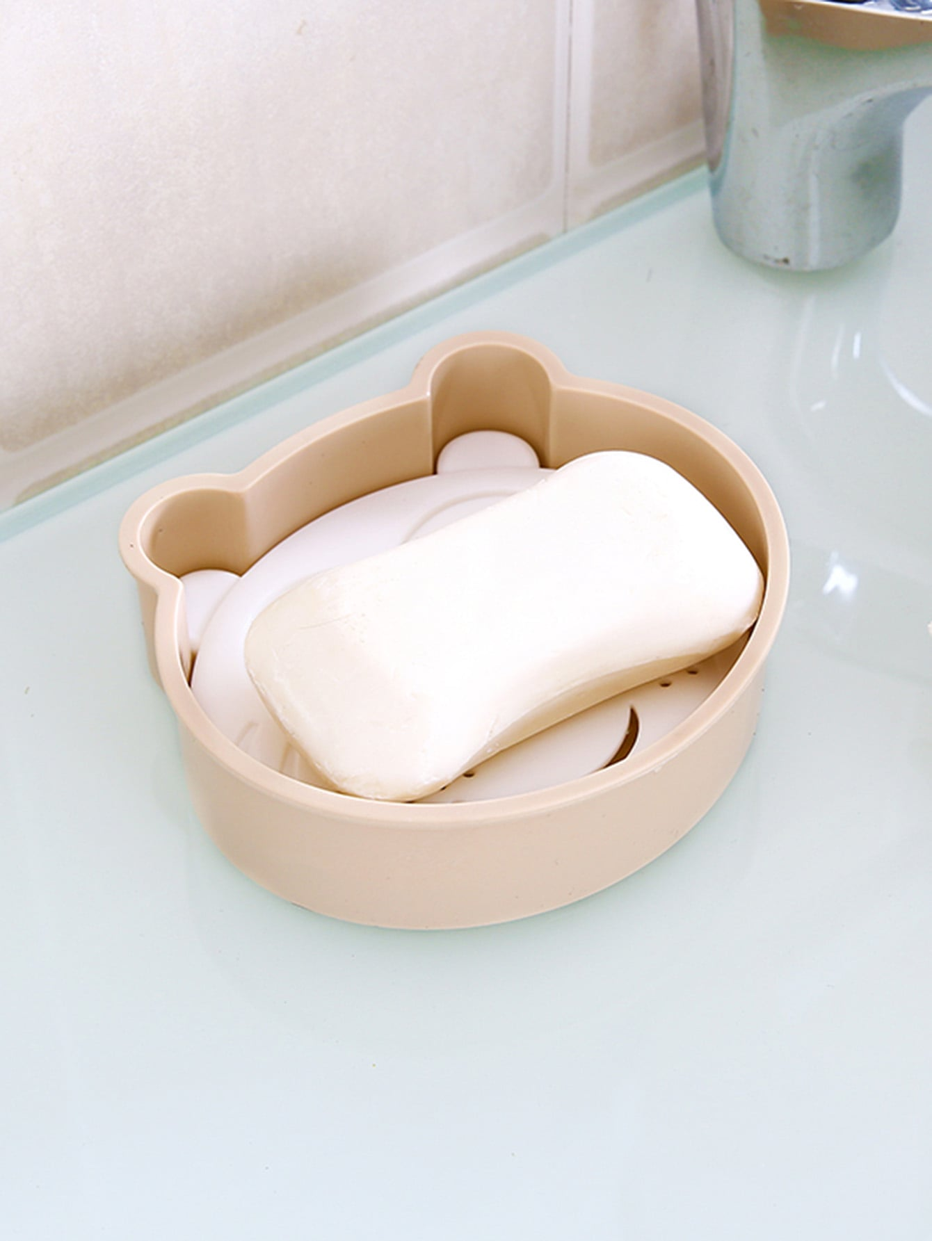 Double Layered Draining Soap Dish