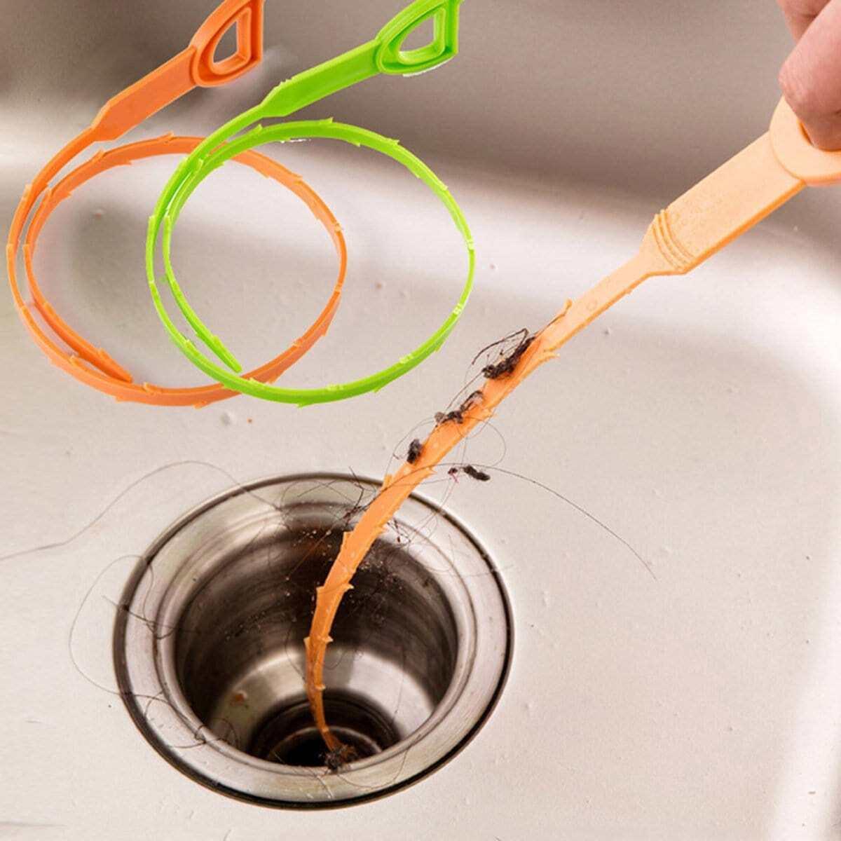 Afvoer schoonmaakspoel willekeurige kleur - 1 stuk