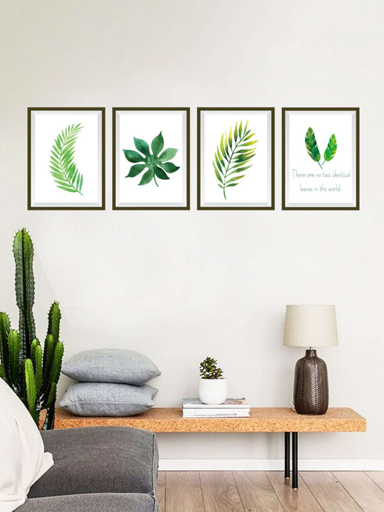 4 Type Tropical Leaves Wall Sticker tropical leaves wall sticker