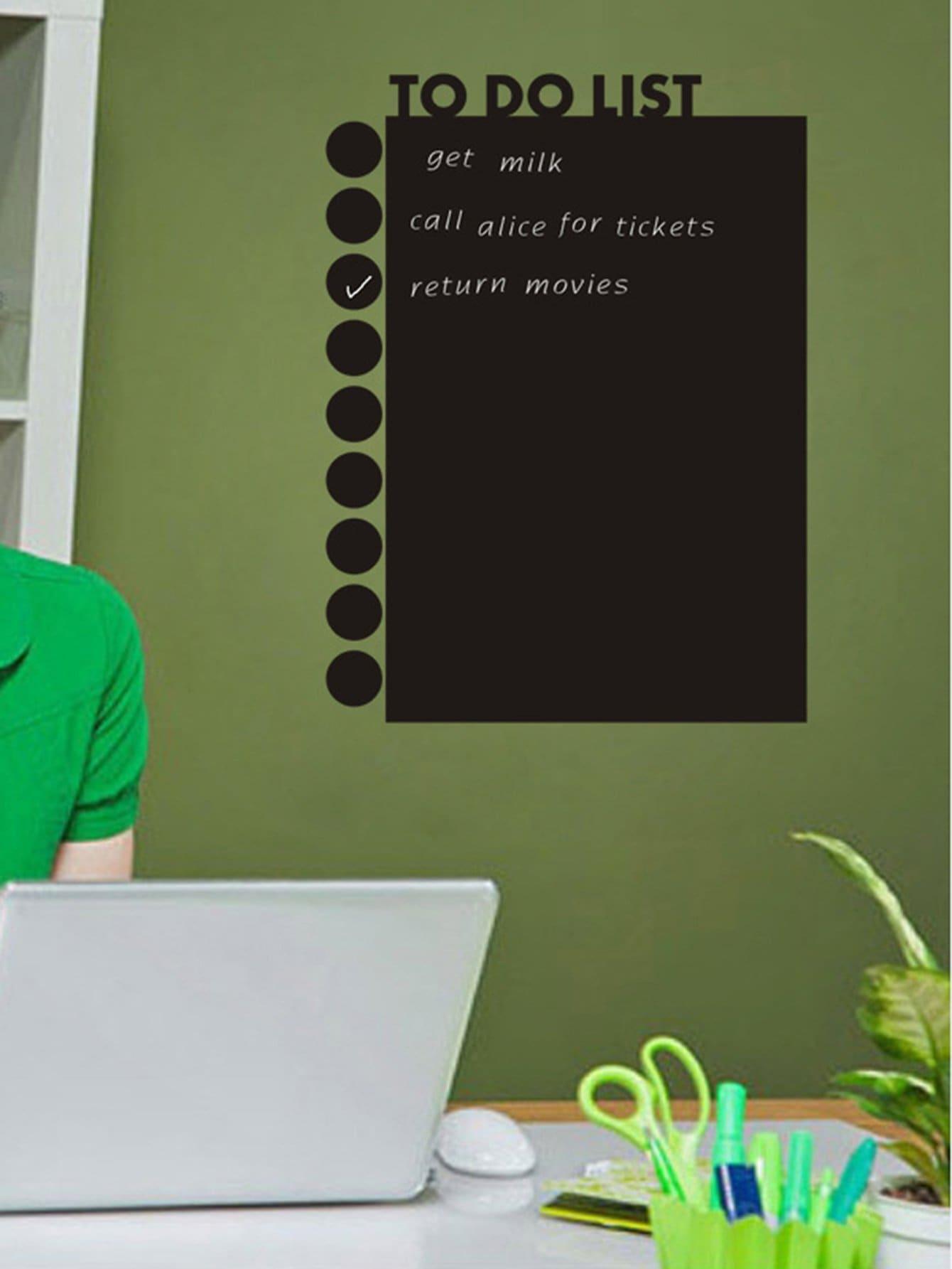 Blackboard Wall Sticker