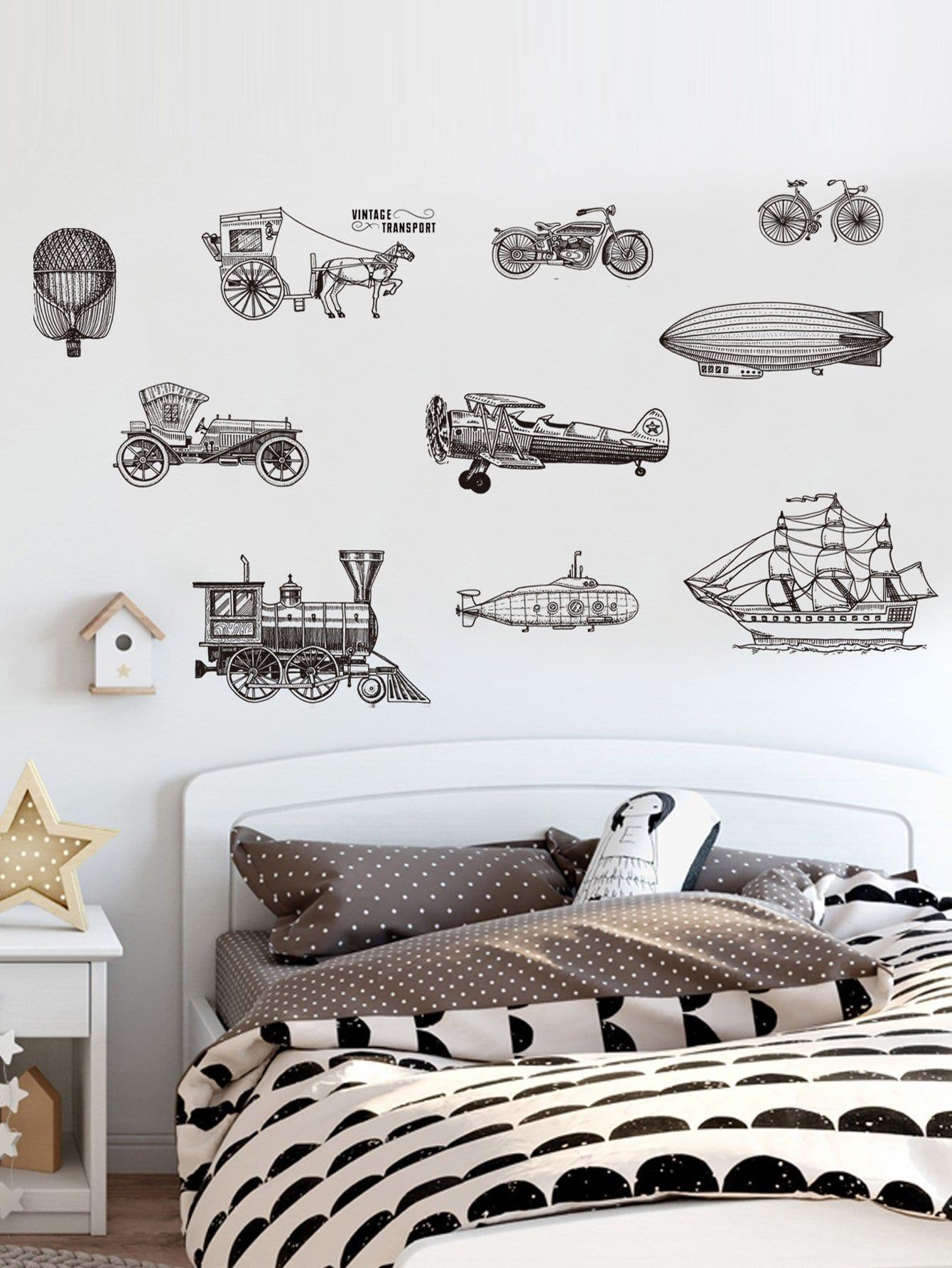 Sketch Machine Wall Sticker