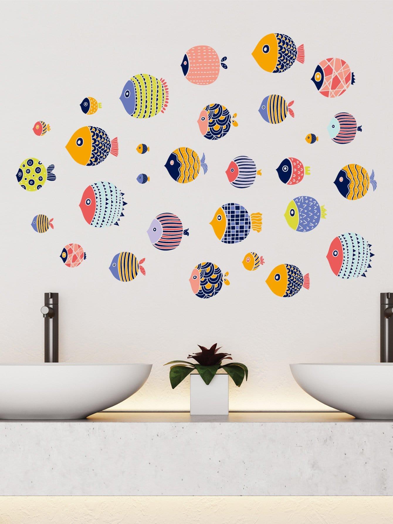 Seafish Wall Sticker цена 2017