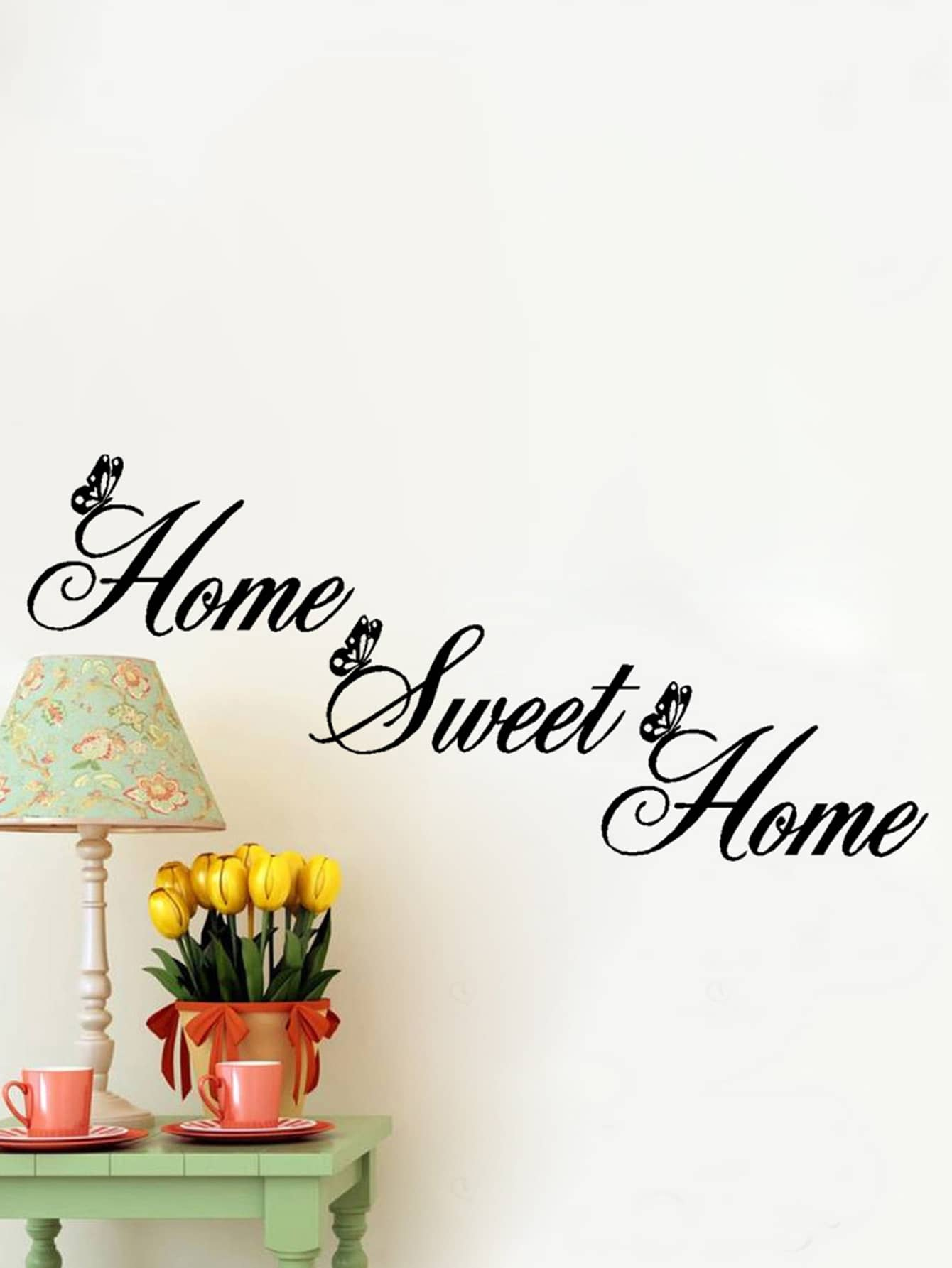 Фото Home Wall Decal family wall quote removable wall stickers home decal art mural