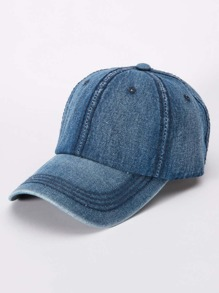 Denim Baseball Cap ROMWE