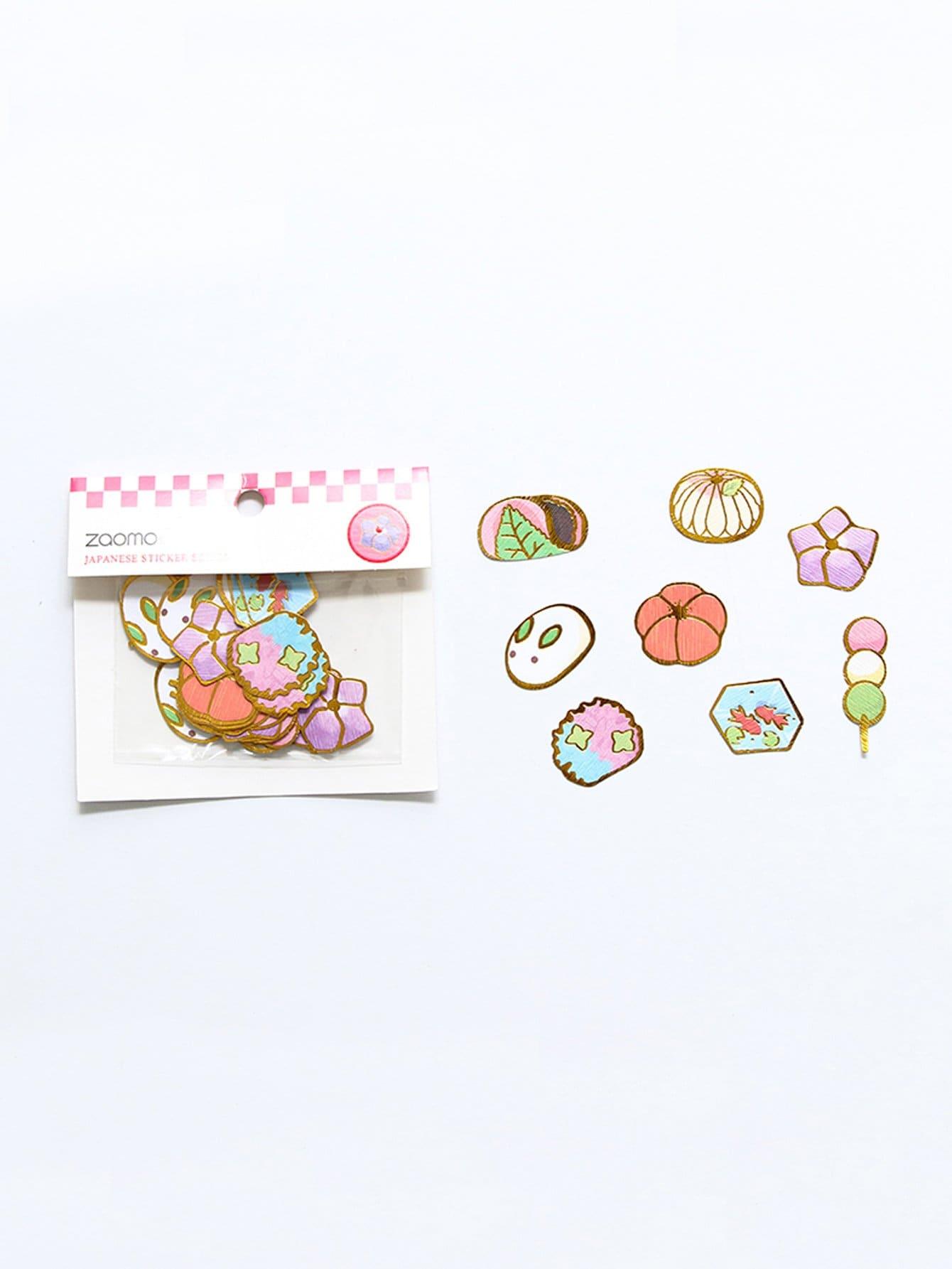 Snack Sticker 40pcs