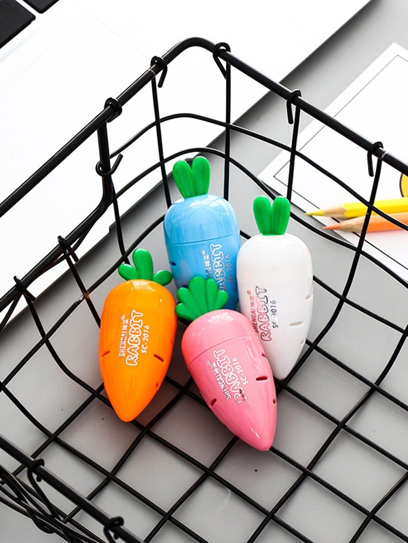 Random Color Pencil Sharpener 1pc random color eraser 1pc