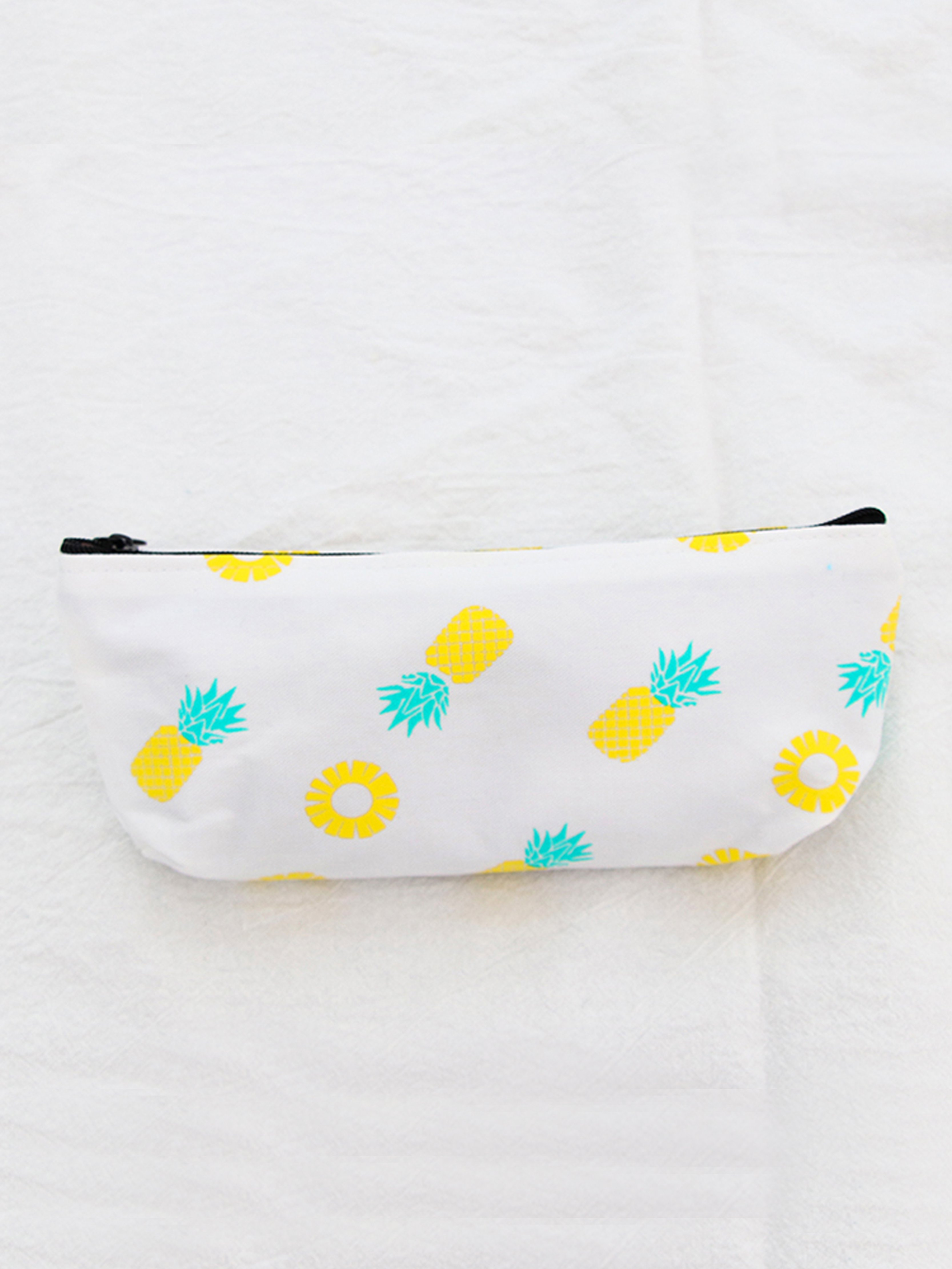 Pineapple Overlay Pencil Case strawberry overlay pencil case