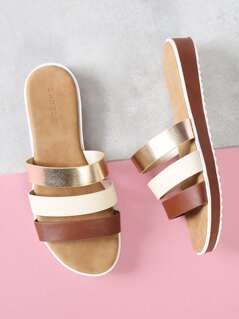 Three Band Slide Sandal