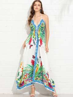 Hanky Hem Tent Dress