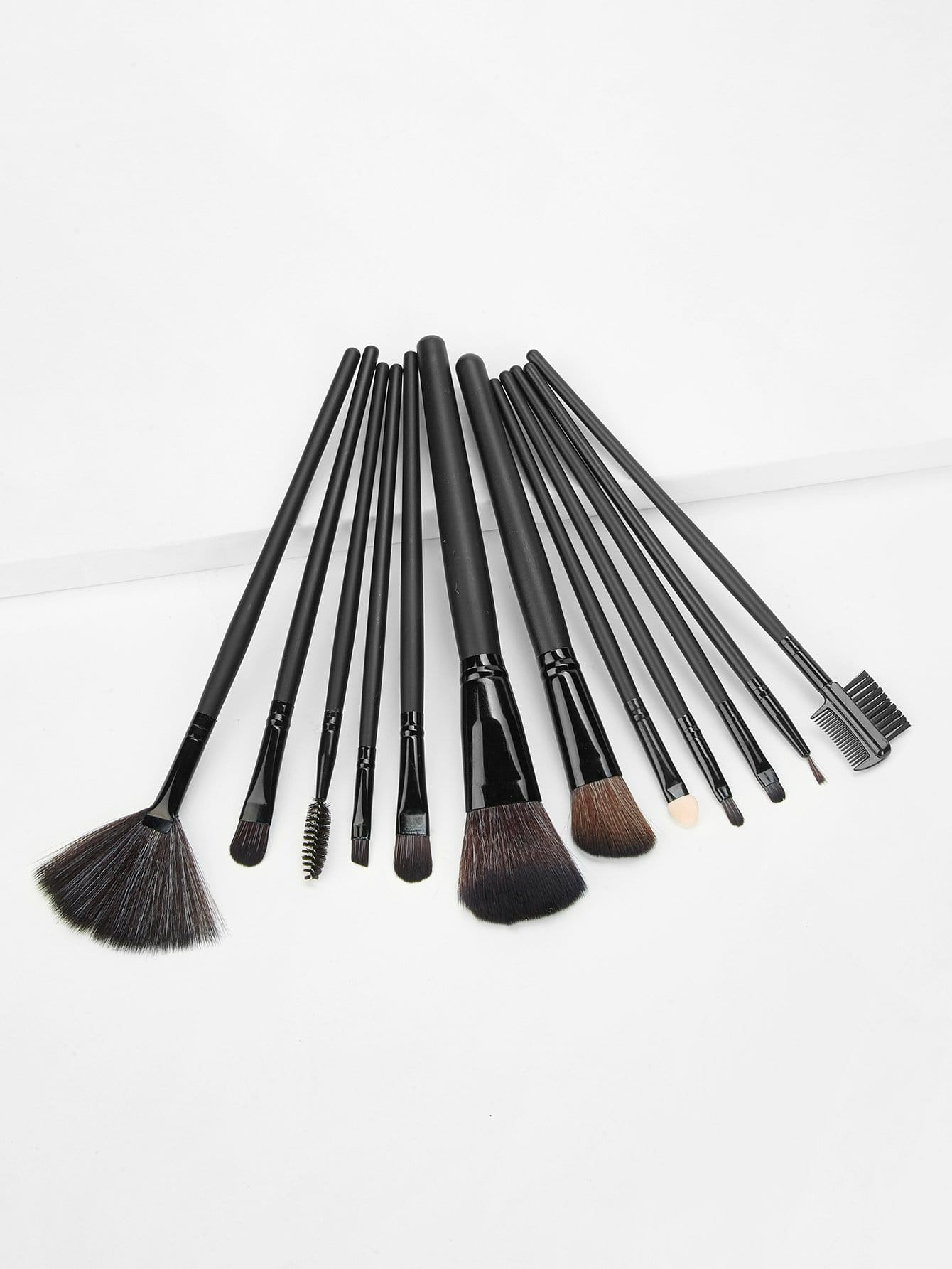 Professional Makeup Brush 12pcs With Bag
