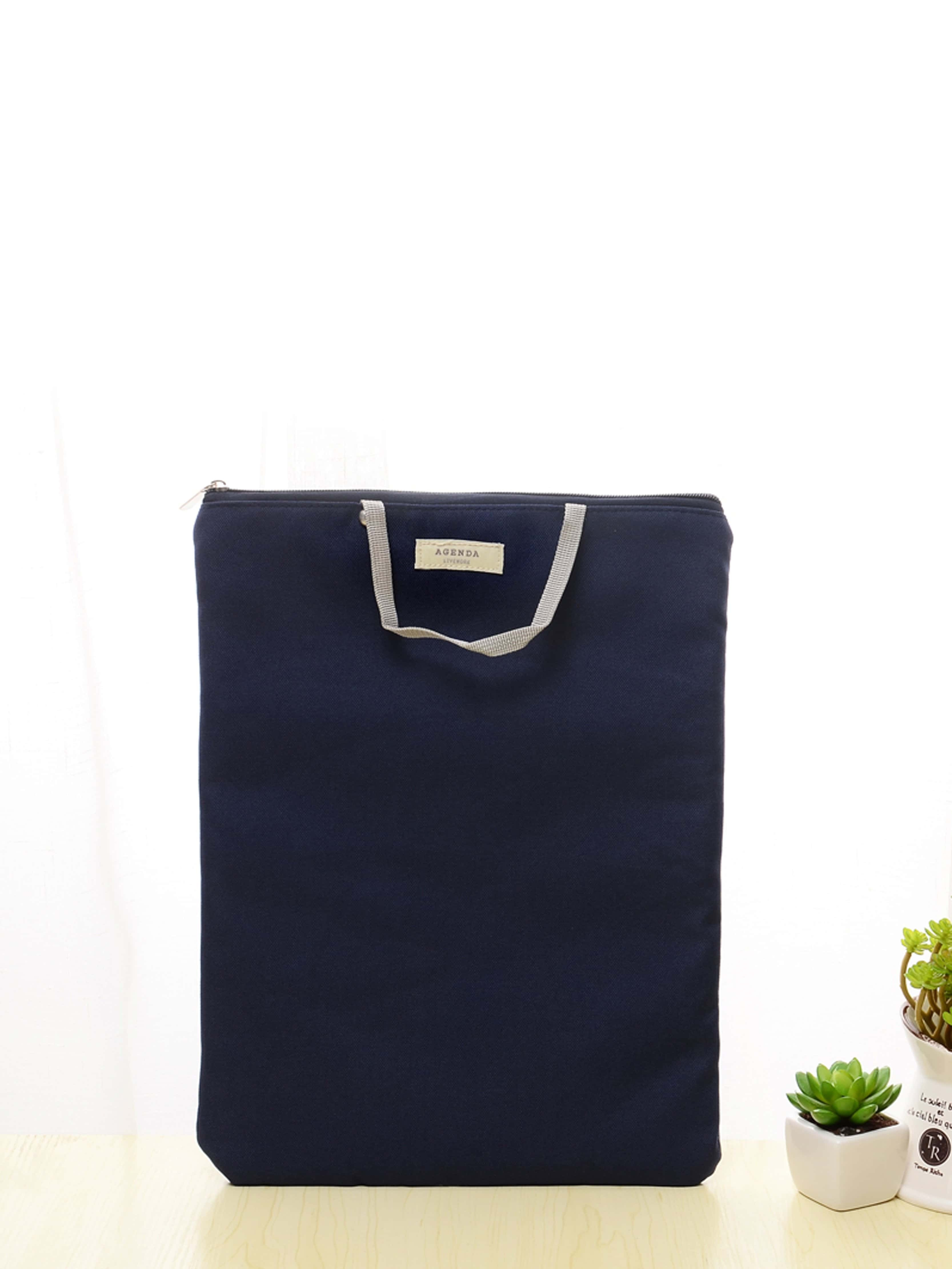 A4 Zipper File Bag With Handle