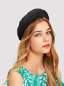 Crochet Beret Cap