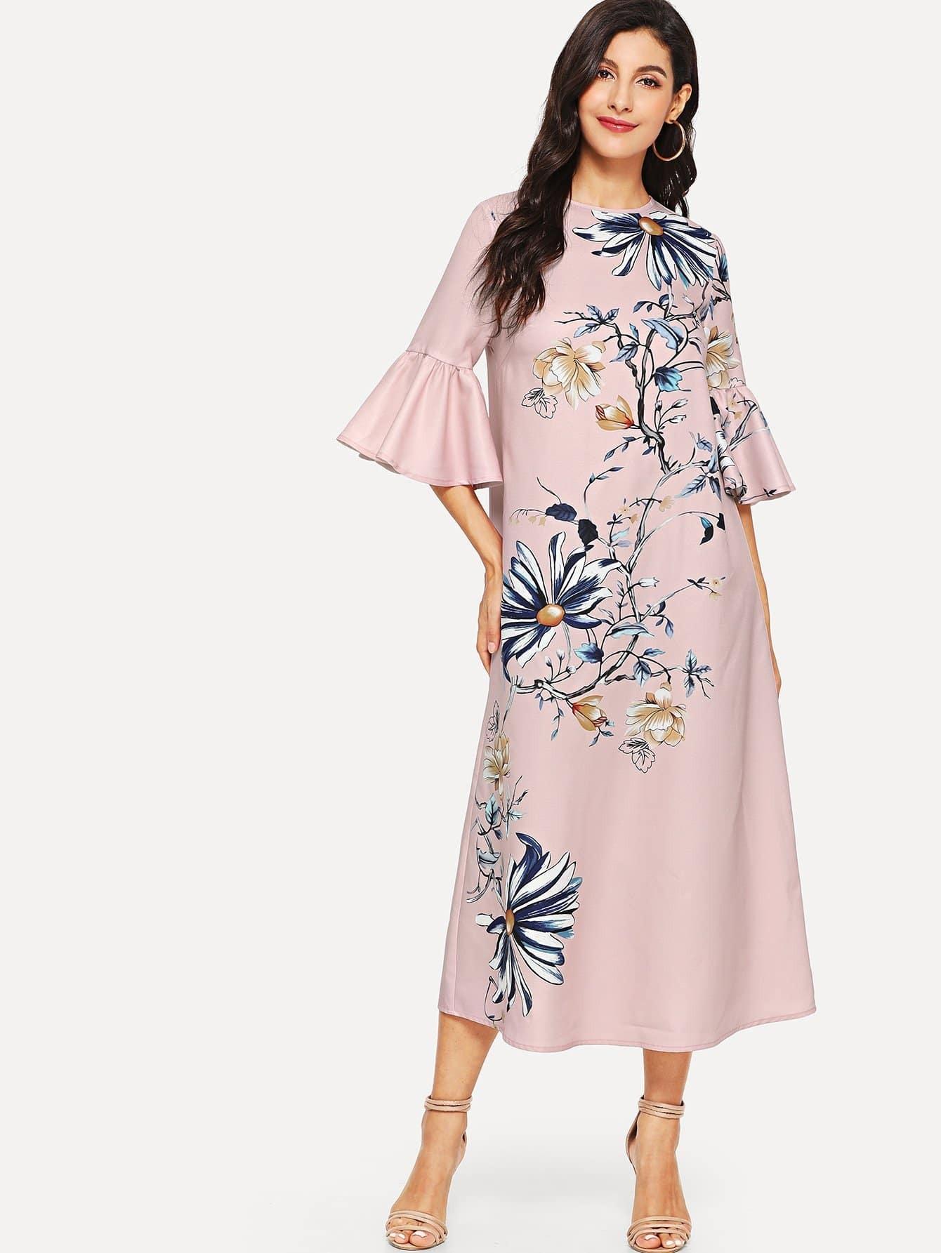 Купить Платье для печати втулки из трусика, Jeane, SheIn