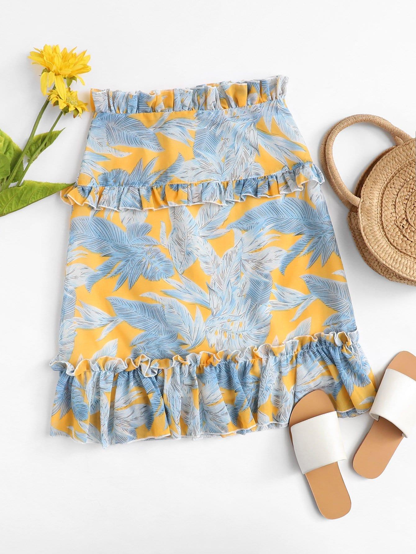 Фрикционная обрезка Zip Up Back Skirt
